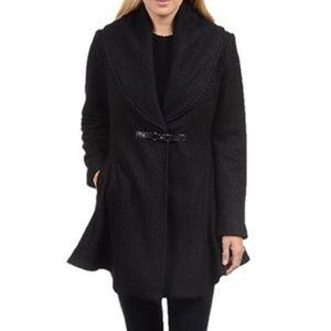 Kensie Black Wool Coat